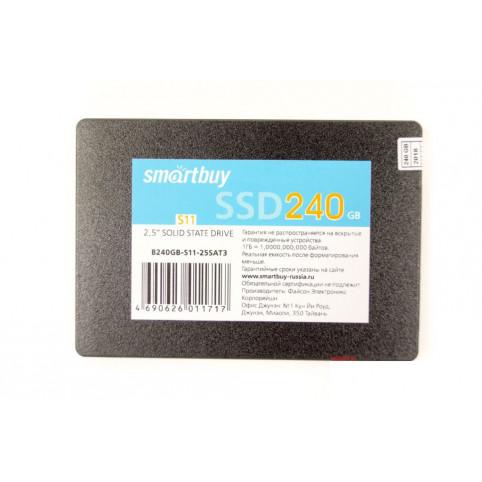 Обзор SSD накопителя Smartbuy S11 PS3111 240GB TLC (SB240GB-S11-25SAT3)