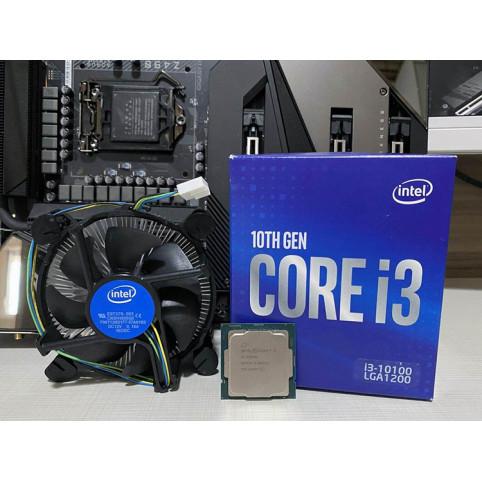 Процессор Intel Socket 1200 Core i3-10100 (3.6Ghz/6Mb) Box BX8070110100SRH3N
