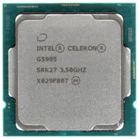 Процессор Intel Socket 1200 Celeron G5905 (3.5Ghz/4Mb) tray CM8070104292115SRK27