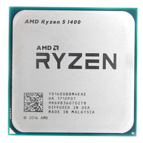 Процессор AMD Ryzen 5 1400 Socket-AM4 YD1400BBM4KAE