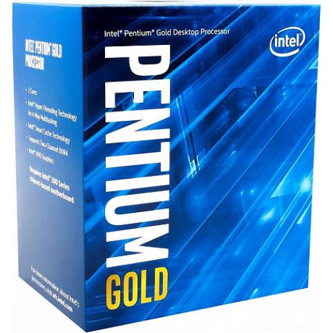 ПРОЦЕССОР INTEL PENTIUM GOLD G5400 BOX (BX80684G5400SR3X9)