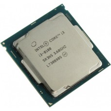 Процессор Intel Core i3-8100 3.6GHz/8GT/s/6MB (BX80684I38100) s1151 TREY
