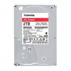 "Жесткий диск HDD 3.5"" SATA-III TOSHIBA 2Tb 5400 128Mb P300 HDWD220UZSVA"