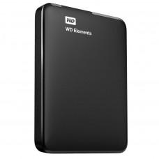 """Внешний жесткий диск HDD 1000 Gb USB3.0 Western Digital Elements Portable WDBUZG0010BBK-WESN  2,5"""" внешний, черный"""