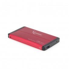 Карман Gembird EE2-U3S-2-R 2,5'' SATA, USB3.0, красный