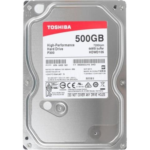 HDD SATA3 500Gb Toshiba 64Mb (HDWD105UZSVA) 7200prm