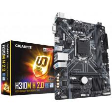 Материнская плата GIGABYTE H310M S2 2.0, LGA 1151v2, Intel H310C, mATX, Ret