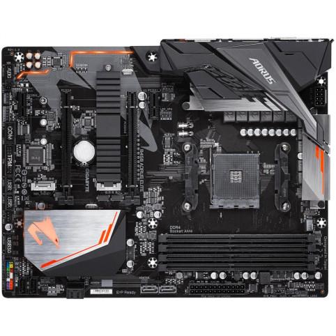 Материнская плата Gigabyte B450 Aorus Elite (sAM4, AMD B450, PCI-Ex16)