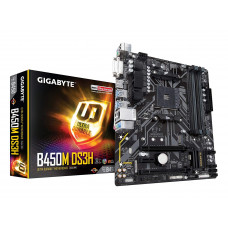 Материнская плата Gigabyte B450M DS3H (sAM4, AMD B450, PCI-Ex16)