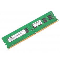 Модуль памяти для компьютера DIMM DDR4 4Gb Foxline DIMM 2400 DDR4 CL 17 (512*8) FL2400D4U17-4G
