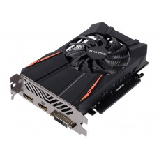 Gigabyte PCI-Ex GeForce GTX 1050 2GB GDDR5 (128bit) (1354/7008) (DVI, HDMI, DisplayPort) (GV-N1050D5-2GD)