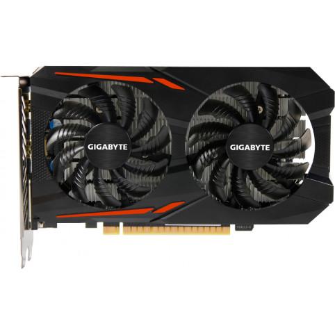 Видеокарта GIGABYTE nVidia GeForce GTX 1050 , GV-N1050OC-2GD, 2Гб, GDDR5, OC, Ret
