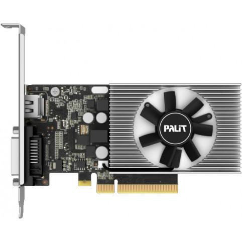 Видеокарта PALIT nVidia GeForce GT 1030 , PA-GT1030 2GD4, 2Гб, Low Profile, Ret [nec103000646-1082f]