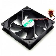 Вентилятор для охлаждения корпуса DeTech 120mm Black Fan