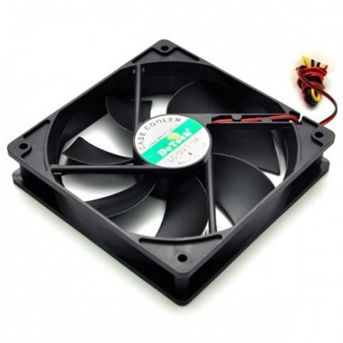 Вентилятор для охлаждения корпуса DeTech 120 купить в Луганске