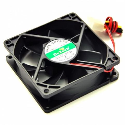 Вентилятор для охлаждения корпуса  DeTech 80mm купить в Луганске