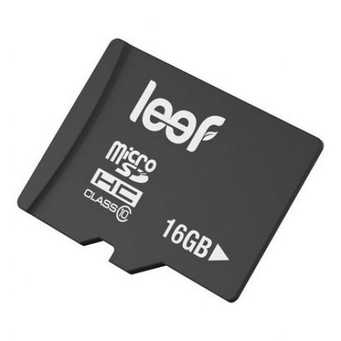 Карта памяти MicroSDHC 16GB Leef Class10 (LFMSD-01610R)