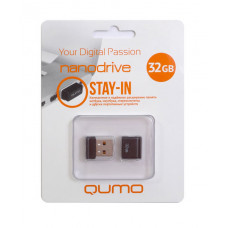 USB 2.0 32 GB Qumo Nano Black