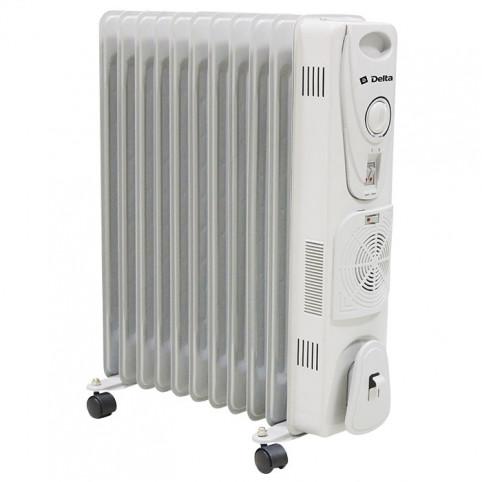 Обогреватель масляный 11-секционный с вентилятором DELTA D25F-11