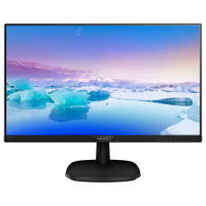 "Монитор 23.8"" Philips 243V7QSB/00 черный IPS LED 8ms 178°/178° 250cd 10M:1 DVI"