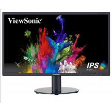 """Монитор 23.8"""" VIEWSONIC VA2418SH, черный (vs16422) 75Гц, IPS, 1920×1080, 16:9, 250кд/м2, 5мс, D-SUB (VGA), HDMI"""