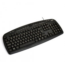 Клавиатура DeTech K4257 Black USB
