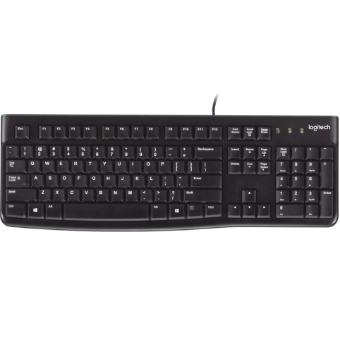 Клавиатура USB Logitech K120 купить в Луганске