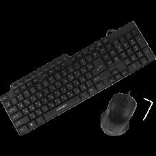 Набор клавиатура и мышь CROWN CMMK-520B