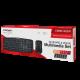 Беспроводной набор: клавиатура мультимедийная + мышь CMMK-952W