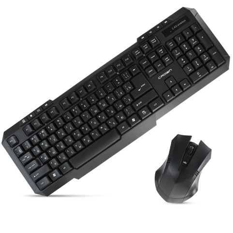 Беспроводной мультимедийный набор: клавиатура + мышь CMMK-953W