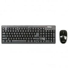 Беспроводной набор : мультимедиа клавиатура + оптическая мышь KMROP-4010U