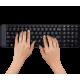 Комплект беспроводной Logitech MK220 Black