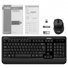 Беспроводной набор клавиатура+мышь SVEN Comfort 3500 Wireless / SV-014285 /