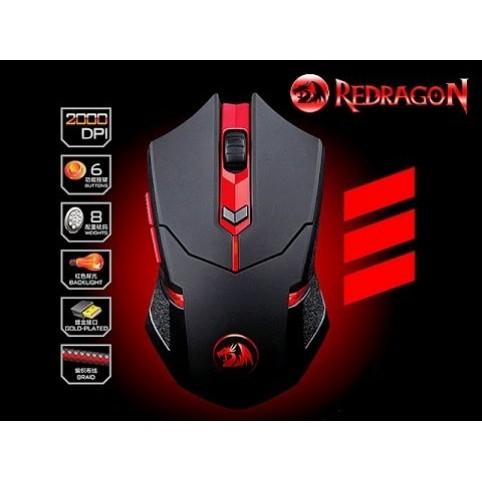 Обзор игровой мыши Redragon Centrophorus