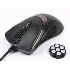 Мышь игровая A4 Tech V-Track F4 USB (Black)