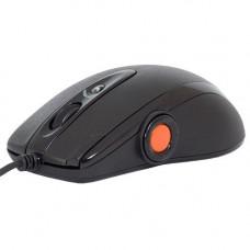 Мышь A4 XL-755BK черный лазерная (3600dpi) USB2.0 (9but)