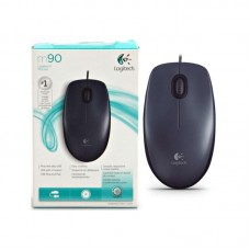 Мышь Logitech Optical M90 Dark Grey (1000dpi, optical, USB, 3btn+Roll) Retail 910-001794