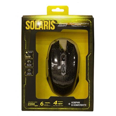 Набор Qumo Dragon War Solaris M10 (мышь+коврик)