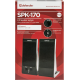 Акустическая 2.0 система Defender SPK-170 черный, 4 Вт, питание от USB