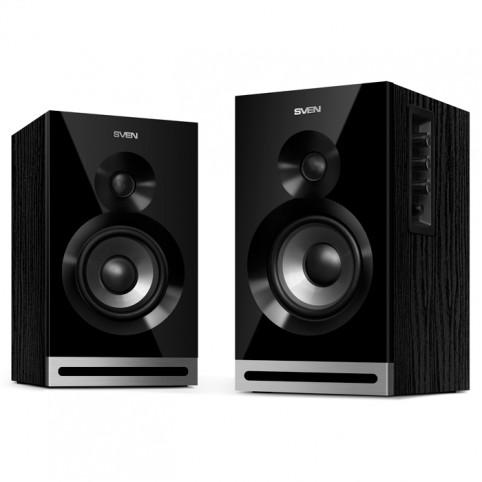 Колонки SVEN SPS-705, чёрный, акустическая система 2.0