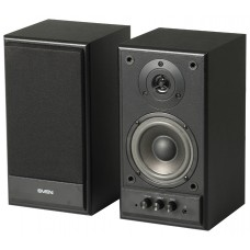 SVEN SPS-702 2.0, Black leather, (2x20W, 40-22000Hz, дерево)
