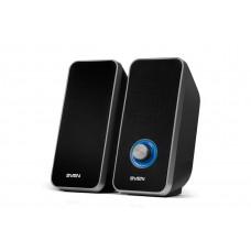 Колонки SVEN 325, чёрный, USB, акустическая система 2.0, мощность 2x3 Вт(RMS) / SV-014643 /