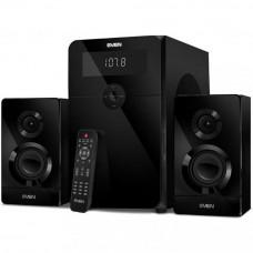Акустическая система 2.1 SVEN MS-2250, черный, мощность (RMS): 50Вт + 2х15Вт, SD/USB, FM-радио, LED-дисплей, пульт ДУ, Bluetooth / SV-016722 /