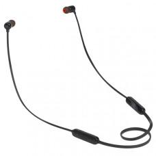 Внутриканальные стереонаушники JBL T110BT BLK, Bluetooth, вкладыши,черный [jblt110btblk]