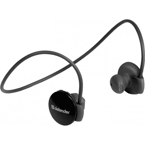 Беспроводные (Bluetooth) наушники Defender FreeMotion B611 черные