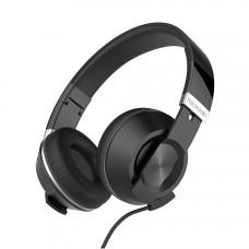 MICROLAB Наушники с микрофоном K762D black, 20Hz - 20KHz