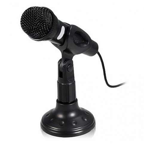 Микрофон DeTech DT-M202 Black