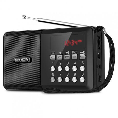 Портативная акустическая система с радио Sven PS-60