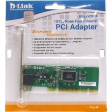 Сетевая карта D-Link адаптер DFE-520TX 10/100 Мбит/с Ethernet PCI