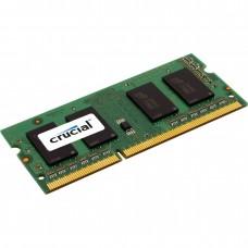 Память для ноутбука DDR3 4096Mb PC12800 (1600MHz) Crucial